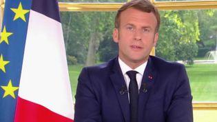 Déconfinement : que retenir de l'allocution d'Emmanuel Macron ? (FRANCE 2)