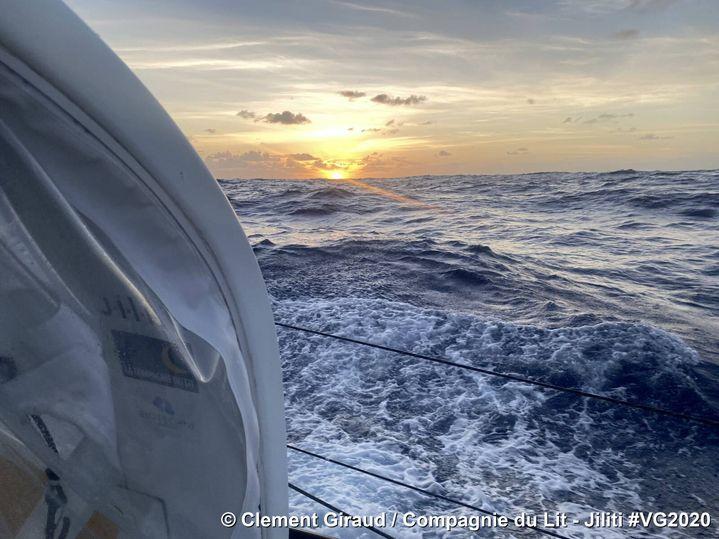 Jolie vue depuis le bateau de Clément Giraud