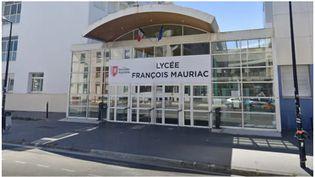 Le lycée François Mauriac à Bordeaux (Gironde). (CAPTURE ECRAN / GOOGLE STREET VIEW)