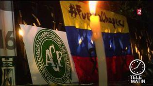 L'Amérique du Sud et le monde du foot en deuil (FRANCE 2)