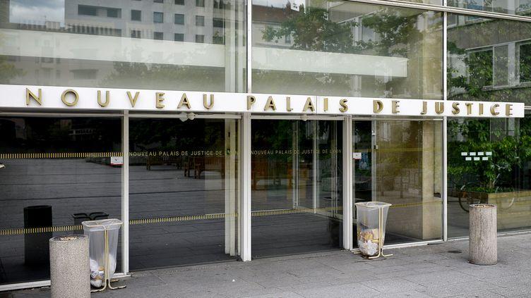Le palais de Justice de Lyon (Rhône). (JEFF PACHOUD / AFP)
