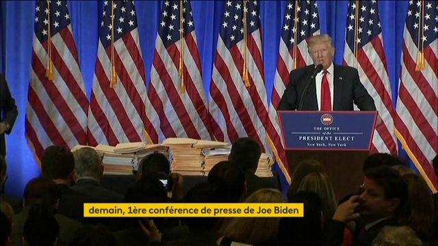 États-Unis : retour sur les premières conférences de presse des Présidents