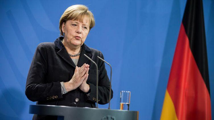 (Angela Merkel veut durcir les règles d'expulsion des demandeurs d'asile condamnés en Allemagne © MaxPPP)