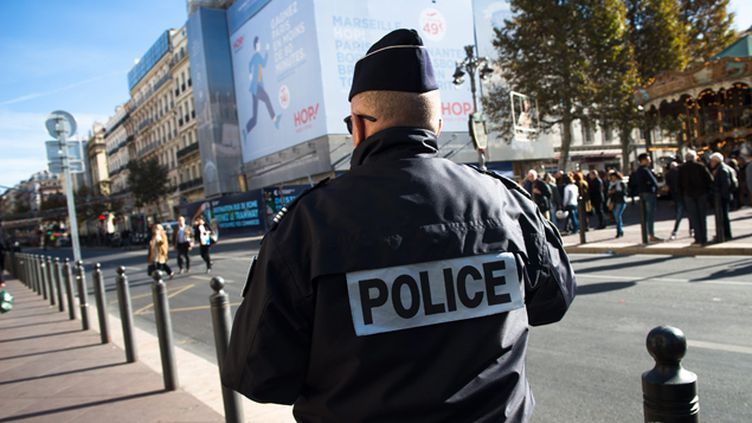 (Patrouille de police à Marseille © MAXPPP)