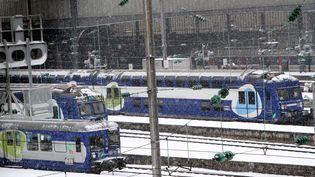 La gare Saint-Lazare à Paris le 20 janvier 2013. (DELPHINE GOLDSZTEJN / MAXPPP)