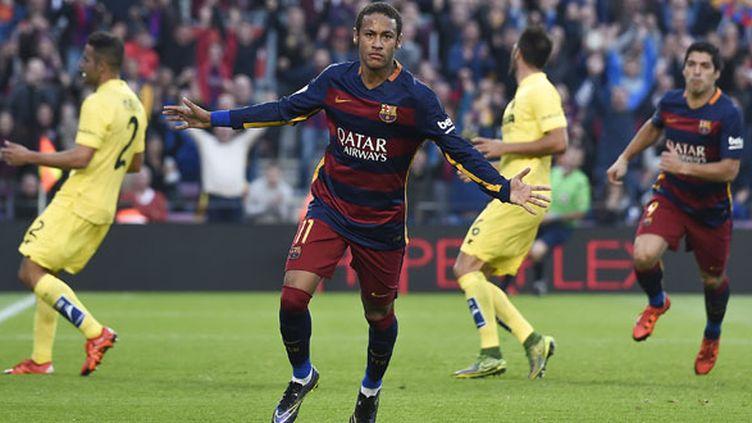 Le joueur du FC Barcelone, Neymar
