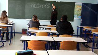 Selon le Conseil national d'évaluation du système scolaire, le phénomène de l'absentéisme est particulièrement à surveiller (illustration). (MAXPPP)
