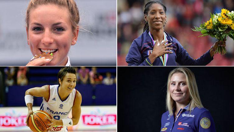 Les sportives françaises, en activité ou non, sont à l'honneur à l'occasion de la Semaine du sport féminin du 18 au 24 janvier 2021.