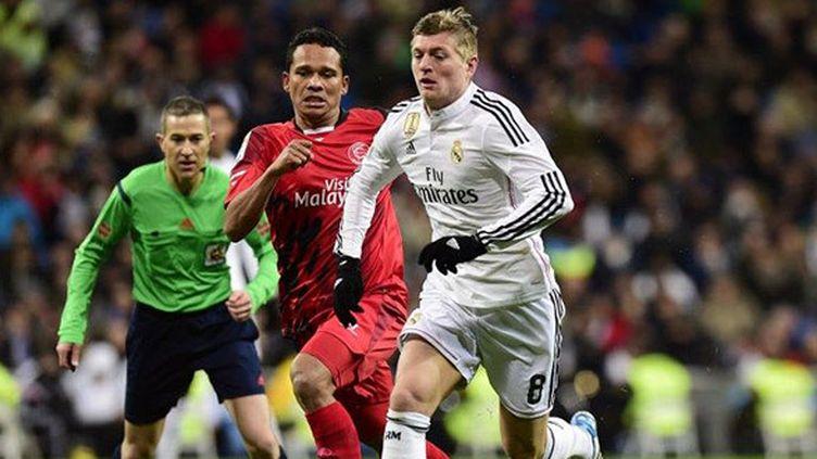 Toni Kroos (Real Madrid) (DANI POZO / AFP)