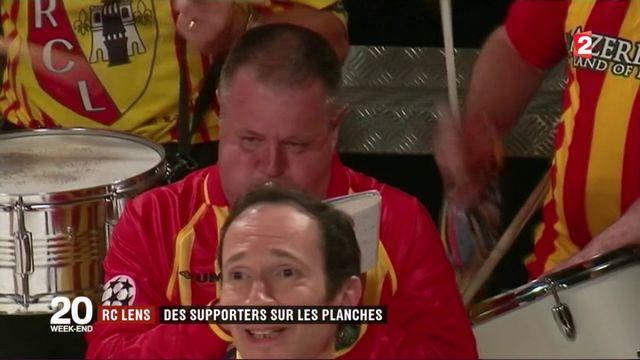 RC Lens : des supporters sur les planches