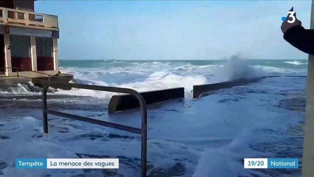 Tempêtes : la menace des vagues s'intensifie