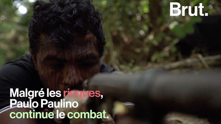 VIDEO. Qui est Paulo Paulino, mort à l'âge de 26 ans, assassiné par des trafiquants de bois en Amazonie ? (BRUT)