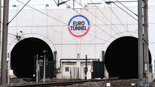 L'entrée du tunnel sous la Manche, près de Coquelles (Pas-de-Calais), le 10 février 2014. (PHILIPPE HUGUEN / AFP)