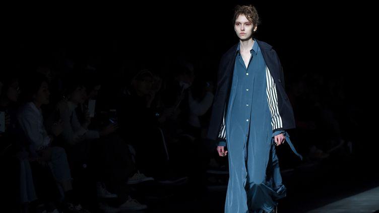Ujoh ah 2017 à la Tokyo Fashion week, mars 2017  (Toru YAMANAKA / AFP Ujoh ah 2017 à la Tokyo Fashion week, mars 2017..)