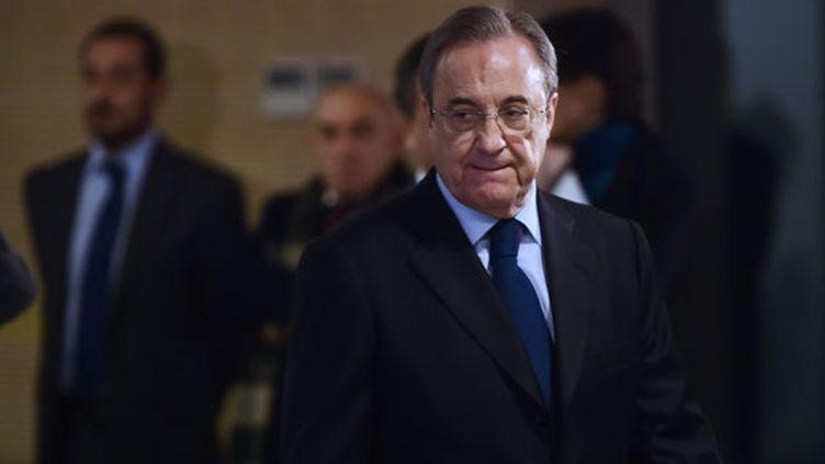 Le président du Real Madrid, Florentino Pérez