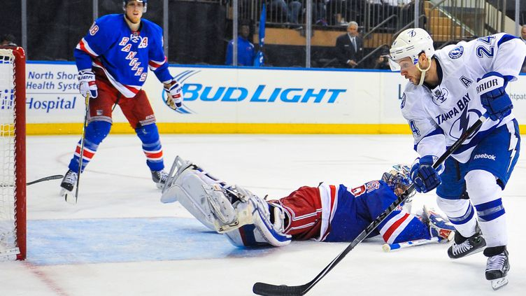 Ryan Callahan a participé au triomphe des siens (ALEX GOODLETT / GETTY IMAGES NORTH AMERICA)