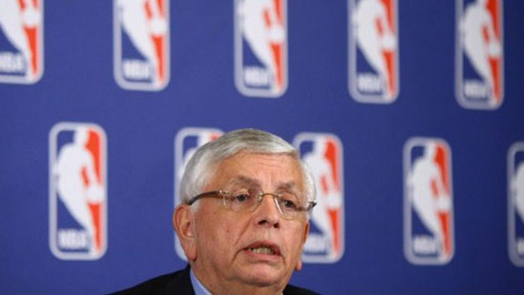 David Stern, patron de la NBA depuis 1984 (NEILSON BARNARD / GETTY IMAGES NORTH AMERICA)