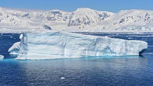 Une vue de l'Antarctique en novembre 2019. (JOHAN ORDONEZ / AFP)