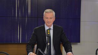 Bruno Le Maire, ministre de l'Economie et des Finances. (RADIO FRANCE / JEAN-CHRISTOPHE BOURDILLAT)