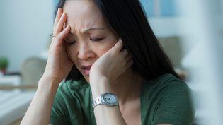 """""""Plus d'un salarié européen sur cinq déclare souffrir de troubles de santé liés au stress au travail"""", selon l'Institut national de recherche et de sécurité (INRS). (ROB LEWINE / IMAGE SOURCE / AFP)"""