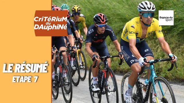 Critérium du Dauphiné 2021 : le résumé de la septième étape