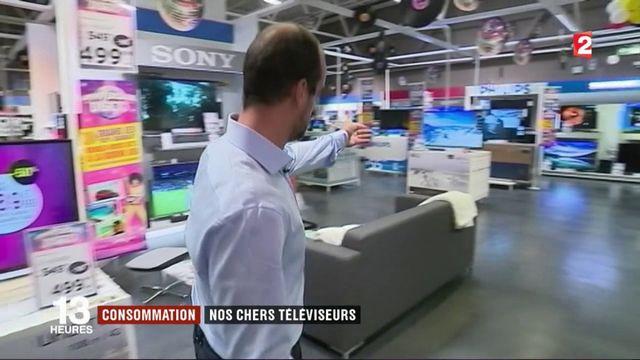 Consommation : le marché des téléviseurs en berne