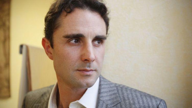 Hervé Falciani, ancien employé de HSBC Private Bank. (VALERY HACHE / AFP)