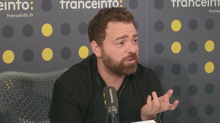 """Julien Lamury, rédacteur en chef de """"Femme actuelle"""", le 5 septembre 2019 sur franceinfo. (RADIO FRANCE / FRANCEINFO)"""