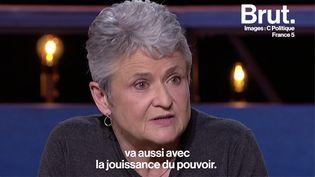 """VIDEO. """"Il est clair que la question de la jouissance sexuelle va aussi avec la jouissance du pouvoir"""" (BRUT)"""