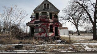 Detroit a perdu la moitié de sa population en soixante ans. Les maisons se vident et les acheteurs potentiels se font rares. (REBECCA COOK / REUTERS)