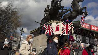 """En Grande-Bretagne, pas de confinement. Le pays a opté pour la stratégie """"de l'immunité collective"""".Ci-contre, à Londres, le 11 mars 2020. (RICHARD BAKER / IN PICTURES)"""