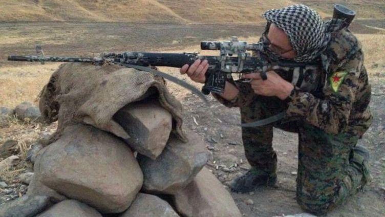 Une photo de Kendal Breizh prise sur le front près de Raqqa. (KENDAL BREIZH)