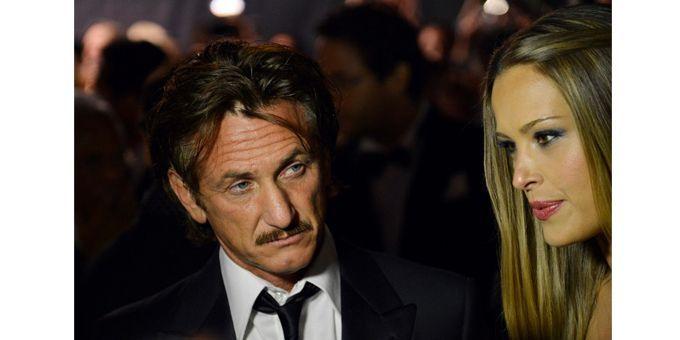 Sean Penn et Petra Nemcova  (AFP PHOTO / ALBERTO PIZZOLI)