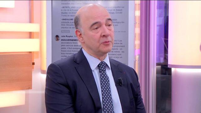 """Invité de Jean-Paul Chapel dans """":L'éco"""" jeudi 18 mai, Pierre Moscovici, commissaire européen aux affaires économiques, réagit à l'annonce de la nomination du gouvernement d'Edouard Philippe."""