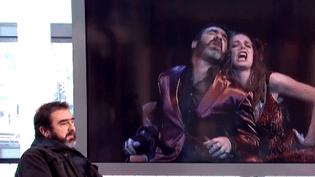 Eric Cantona sur le plateau du 13 heures  (France2/culturebox)