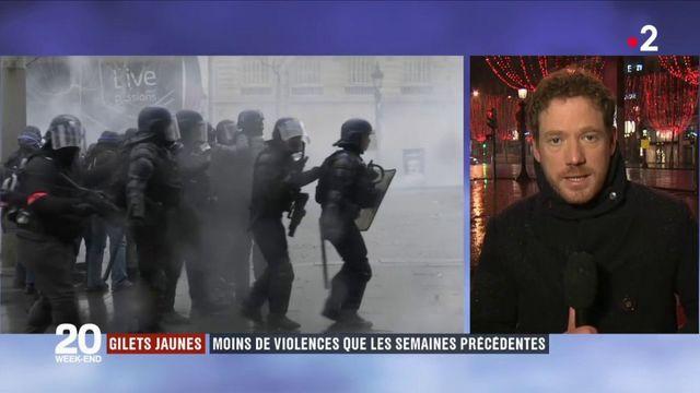 """""""Gilets jaunes"""" : quelle situation samedi soir à Paris ? Et quel bilan ?"""