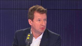 Yannick Jadot,tête de liste Europe Ecologie-Les Verts (EELV) aux élections européennes,invité de franceinfo le8 février 2019 sur franceinfo. (RADIO FRANCE / FRANCEINFO)