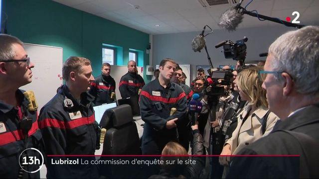 Incendie de l'usine Lubrizol : la commission sénatoriale sur le terrain