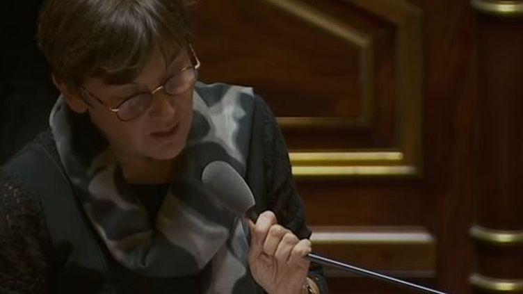 Annick Girardin au Sénat le 22/11/18 (Public sénat)