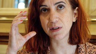 Pénélope Bagier, dessinatrice de bandes déssinnées. (DANIEL FOURAY / MAXPPP)