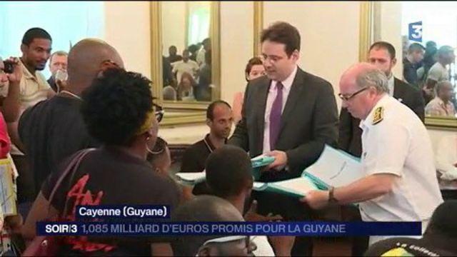 Guyane : un milliard d'euros promis par le gouvernement