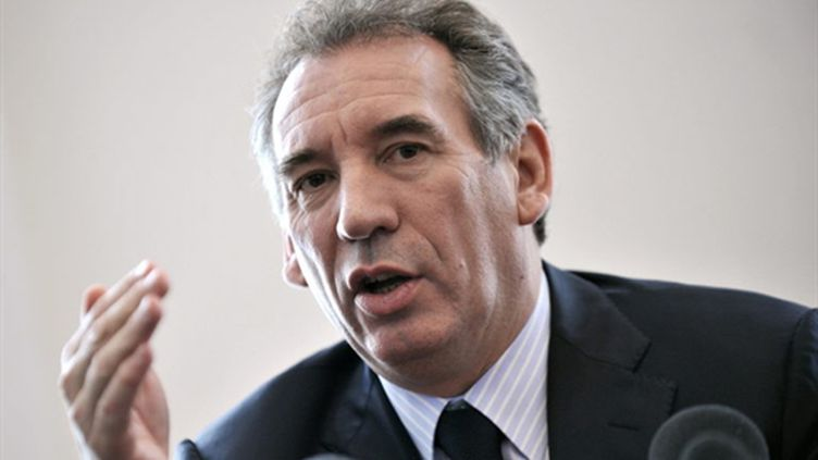 François Bayrou le 27 mars 2010, lors d'une conférence de presse à l'Assemblée nationale (AFP / Bertrand Langlois)