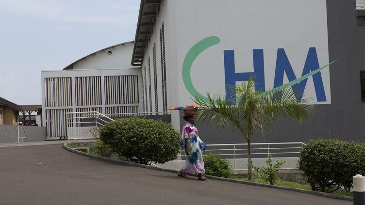 Le centre hospitalier de Mayotte,seul hôpital de l'île qui comptait, d'après le recensement de 2014, plus de 250 000 habitants. (XAVIER GAUTHIER / MAXPPP)
