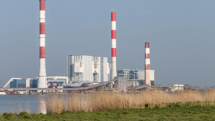 La centrale de Cordemais, en Loire-Atlantique, le 9 mars 2021. (BAPTISTE ROMAN / HANS LUCAS)