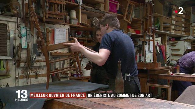 Artisanat : un ébéniste au sommet de son art et meilleur ouvrier de France
