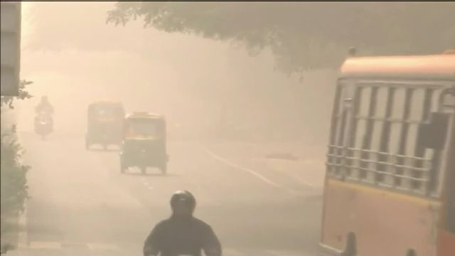 VIDEO. Inde : New Delhi suffoque à cause d'un smog de pollution
