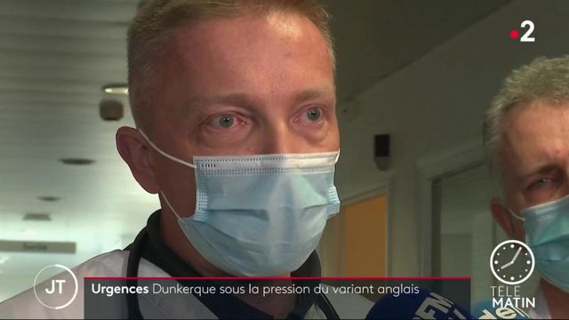 Covid-19 : à Dunkerque, les services de réanimation sont saturés