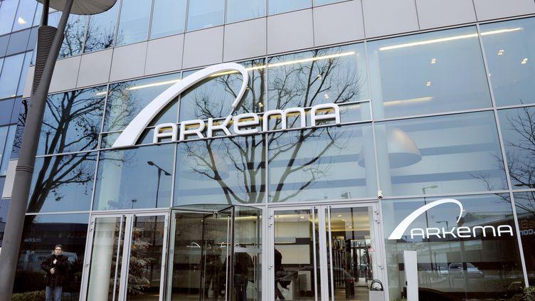 Le siège de la société Arkema, à Colombes (Hauts-de-Seine), le 15 décembre 2008. (BERTRAND GUAY / AFP)