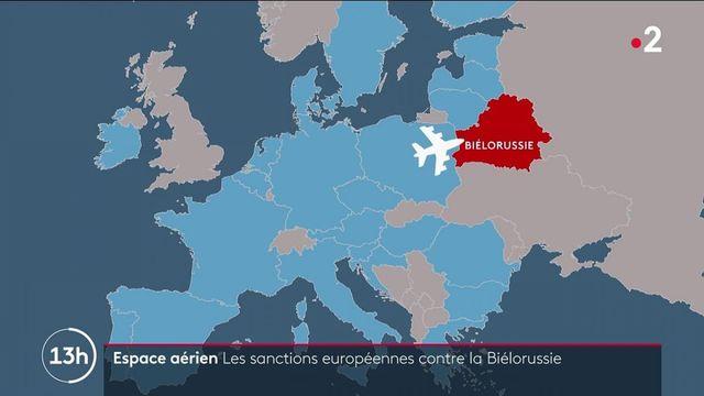 Détournement en Biélorussie : l'Union européenne ferme son espace aérien