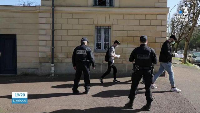 Confinement : la police inquiète du manque d'équipement sanitaire